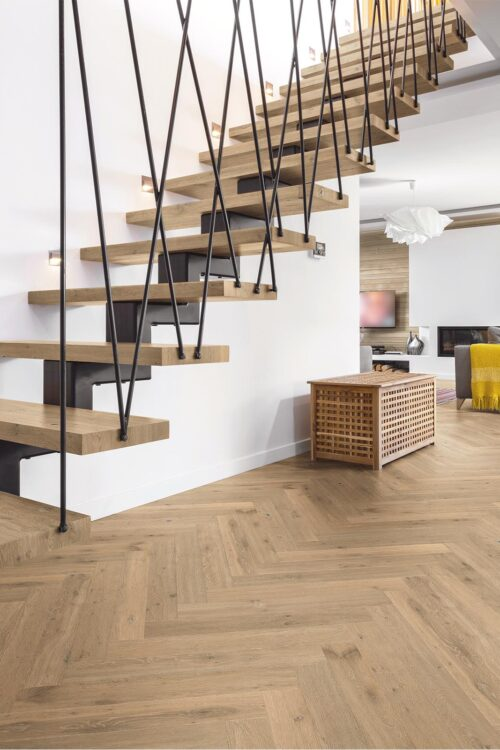 Western European oak floors-Fashion Collection-Herringbone-Bergen-room